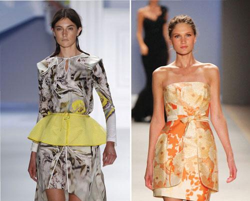 Thời trang váy peplum khoe eo thon