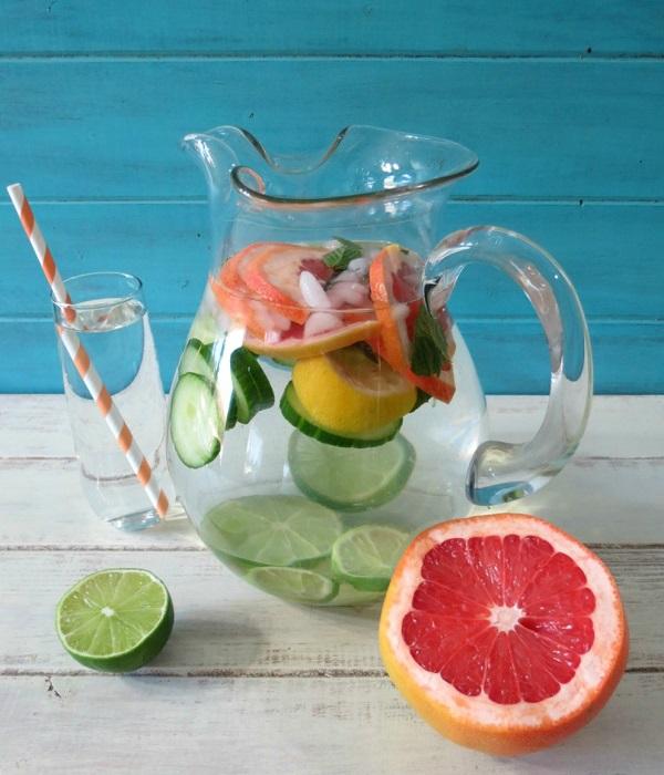 1.3 loại nước detox dễ làm cho chị em mùa Tết2