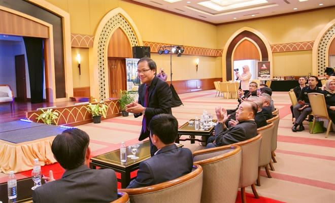 Ông Phạm Quốc Anh - Tham tán Thương mại Việt Nam