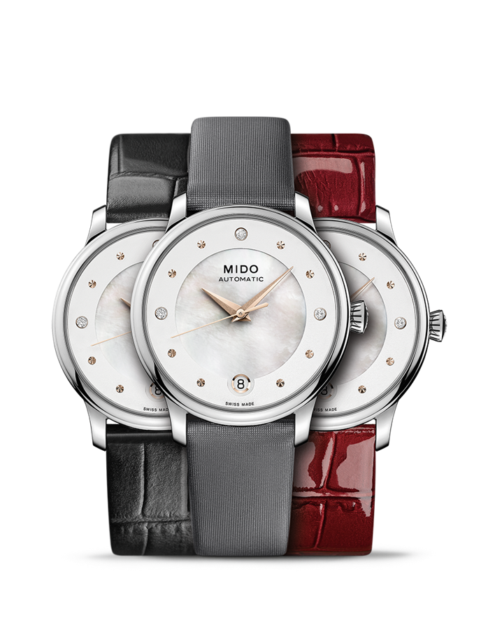 Mido Swiss automatic watch Baroncelli LadyDayNight M039.207.16.106.00 Montage