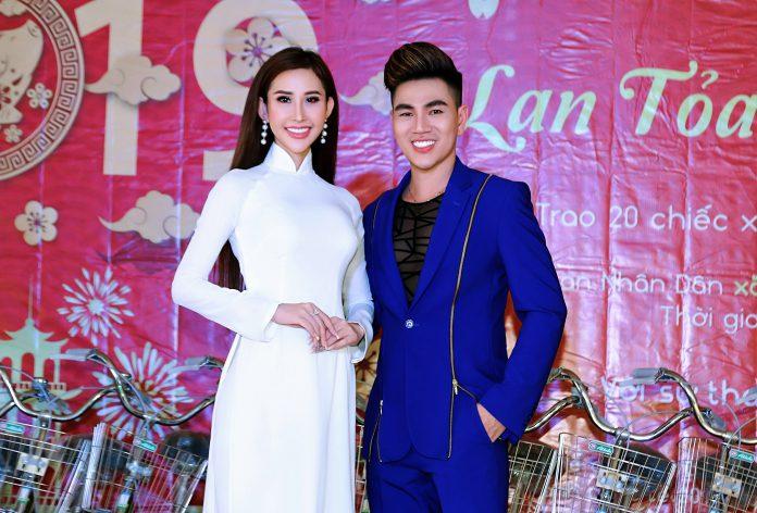 Hoa hậu Chi Nguyễn và nam vương Hoàng Gia Lâm