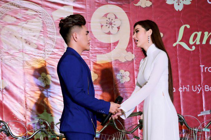 Hoa hậu Chi Nguyễn và nam vương Hoàng Gia Lâm da diết trong ca khúc của MV Đường tình đôi ngã.