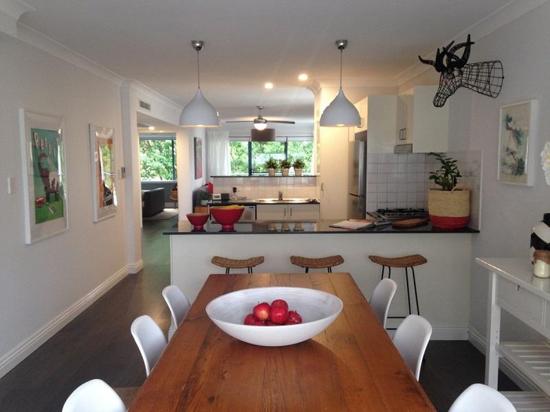 Thiết kế phòng ăn rất chú trọng đến kết cấu, từng chi tiết được các kiến trúc sư và gia chủ chú trọng.