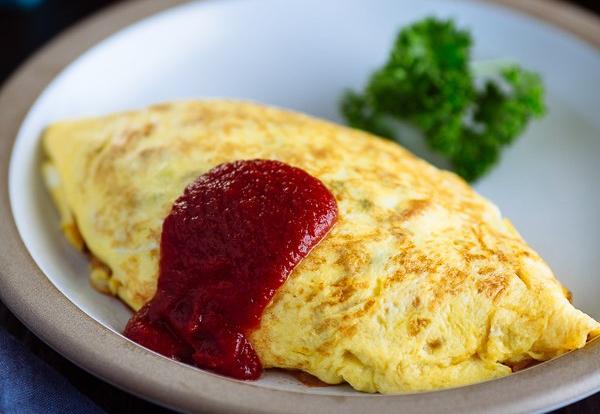 2.Trứng cuộn cơm rang