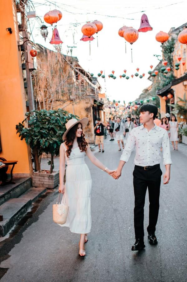4.Ảnh cưới ở Đà Nẵng của cặp nên duyên nhờ bạn thân