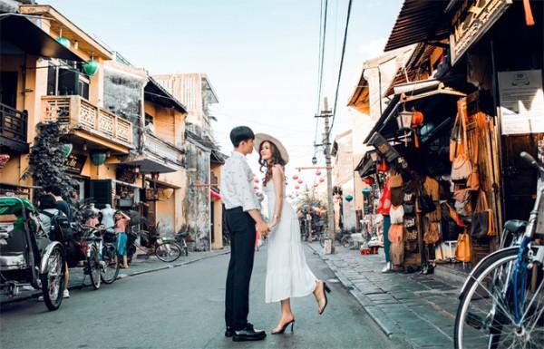 4.Ảnh cưới ở Đà Nẵng của cặp nên duyên nhờ bạn thân1