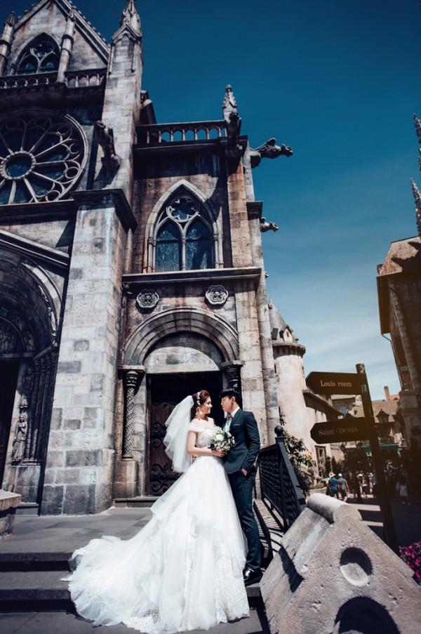 4.Ảnh cưới ở Đà Nẵng của cặp nên duyên nhờ bạn thân3