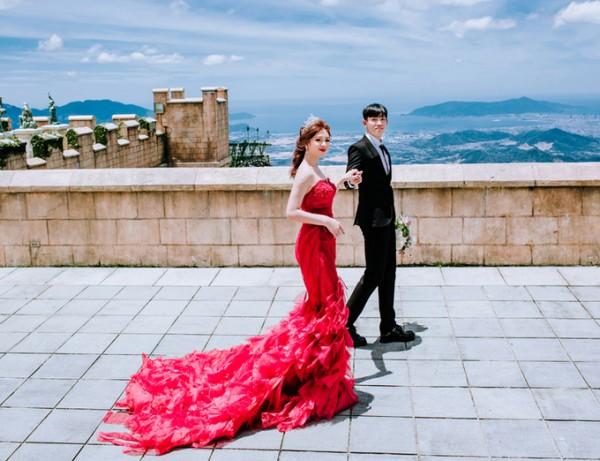 4.Ảnh cưới ở Đà Nẵng của cặp nên duyên nhờ bạn thân6