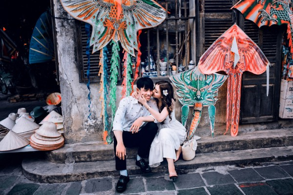 4.Ảnh cưới ở Đà Nẵng của cặp nên duyên nhờ bạn thân7