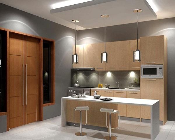Khi đặt bếp ở giữa nhà thì toàn bộ ngôi nhà của bạn sẽ bị ám mùi mỗi khi nấu nướng