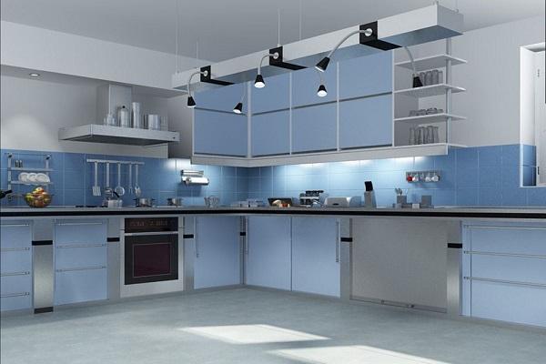 Chủ nhà cần nắm rõ nguyên tắc chọn lựa đồ vật có màu sắc thích hợp để giúp bếp luôn mang năng lượng cũng như vượng khí nhất định