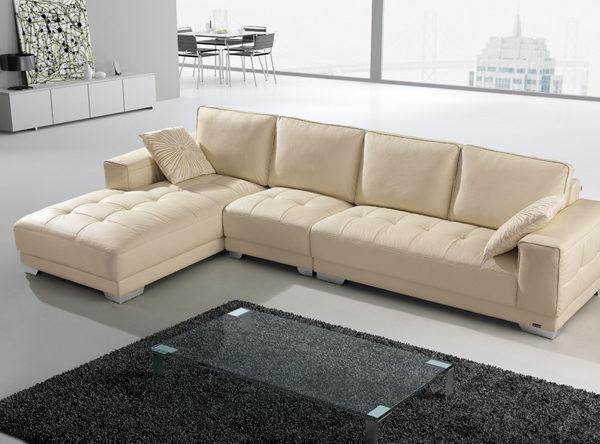 Với những ai yêu thích sự trẻ trung, hiện đại thường sẽ chọn sofa bằng nỉ.