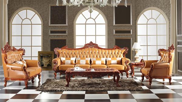 Sofa cổ điển thể hiện sự tinh tế và trang trọng của gia đình bạn.