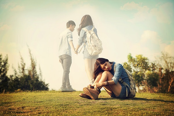Tình yêu của người thứ ba là tình yêu nhầm chỗ, giống như người đi lạc đường...
