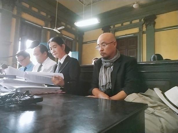 Ông Đặng Lê Nguyên Vũ trong phiên tòa hôm 25/2. Ảnh: Minh Anh