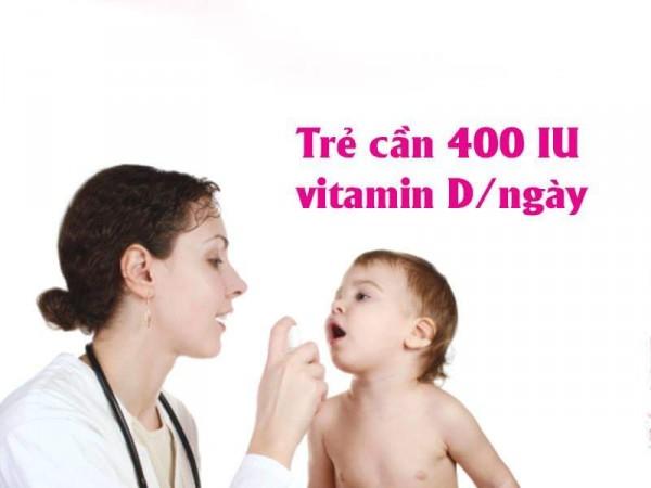 21.Bổ sung Vitamin D cho trẻ
