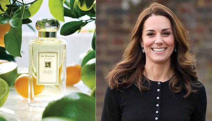 Bà xã Hoàng tử William từng tiết lộ chai nước hoa cô yêu thích nhất là Jo Malone Orange Blossom. Thậm chí, cô còn cho đốt nến thơm có mùi hương này trong tiệc cưới hồi năm 2011.