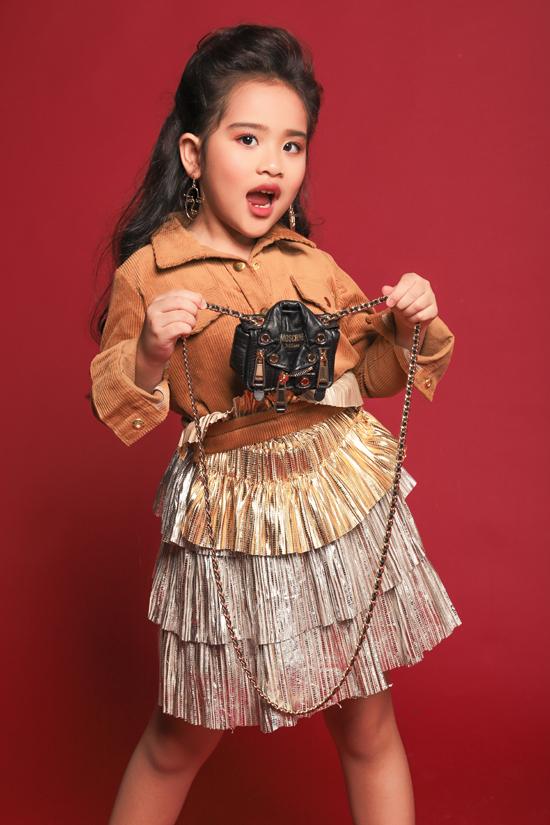 Sau những lần được biểu diễn cùng các hoa hậu, siêu mẫu tại Asian Kids Fashion Week, cô bé đã nuôi ước mơ trở thành hoa hậu và rất thần tượng cô Trần Tiểu Vy.