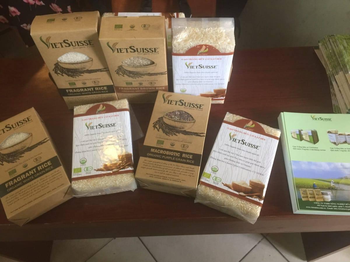 Thai giao -mẹ ăn hôm nay - con khỏe ngày mai -gạo hữu cơ