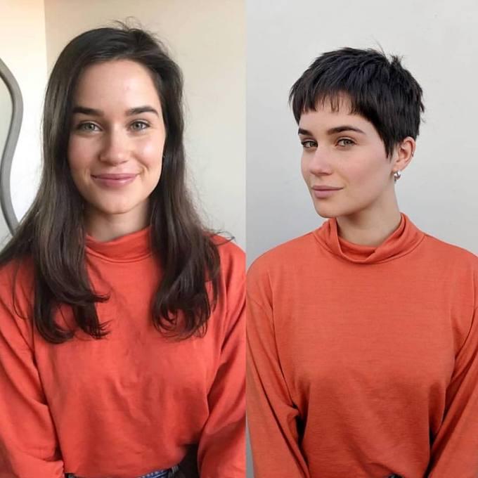 Đừng ngại thử kiểu tóc tém bởi nó sẽ mang đến cho bạn nhiều điều bất ngờ.