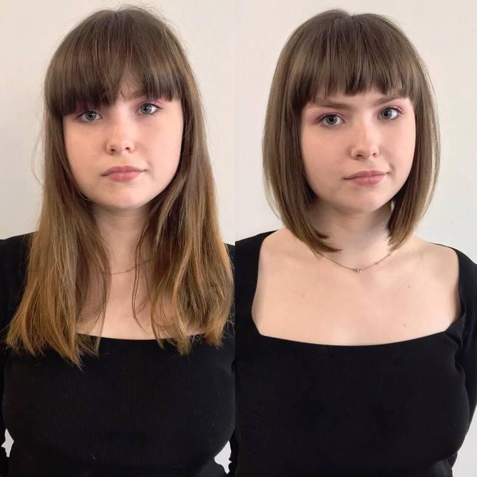 Đôi khi không cần thay đổi kiểu tóc mái, bạn chỉ cần cắt ngắn tóc đi là đã đủ để tạo sự khác biệt.