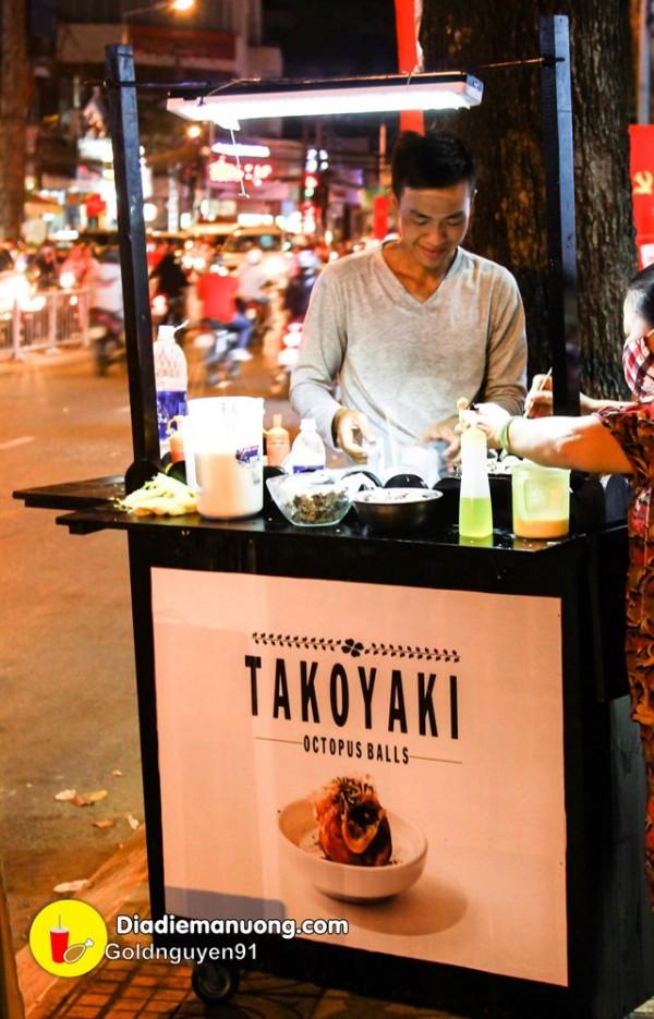"""12.5 địa điểm bán bánh bạch tuột Takoyaki """"nhìn thôi đã thèm"""" tại Sài Gòn5"""