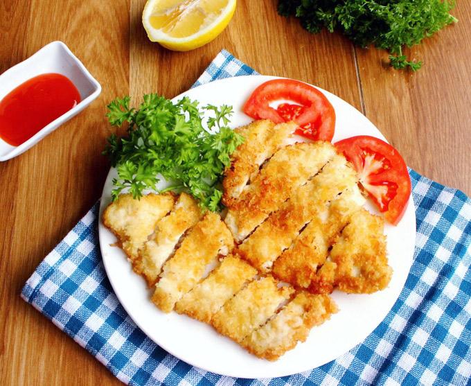 18.Thịt gà chiên xù