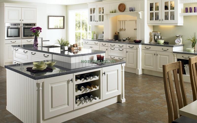23.Top 10 mẫu tủ bếp tân cổ điển sang trọng đang lên ngôi năm 20195