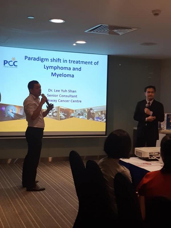Bác sĩ Lee Yuh Shan – Chuyên khoa ung thư máu thuộc Trung tâm Ung thư Parkway Singapore chia sẻ về bệnh bạch cầu Lympho mãn tính