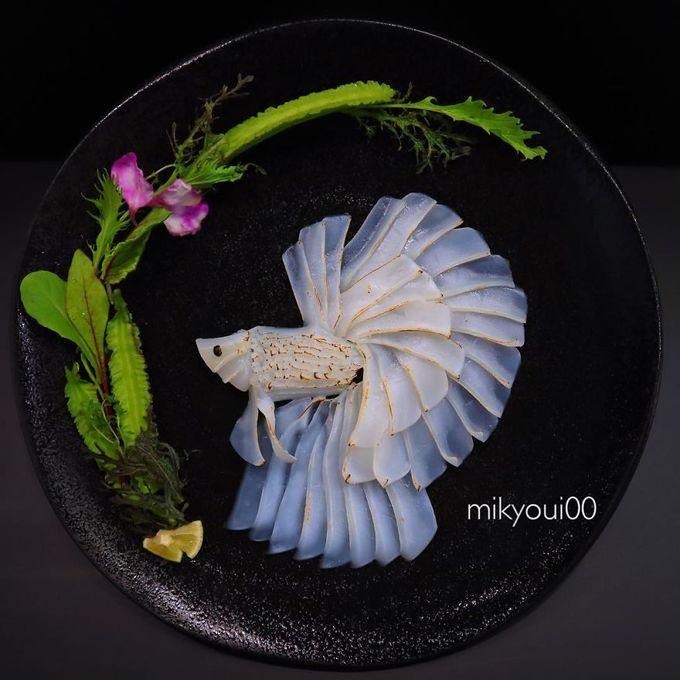 4.Người đàn ông Nhật biến sashimi thành tranh 3D đẹp không nỡ ăn12