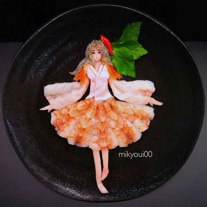 4.Người đàn ông Nhật biến sashimi thành tranh 3D đẹp không nỡ ăn16