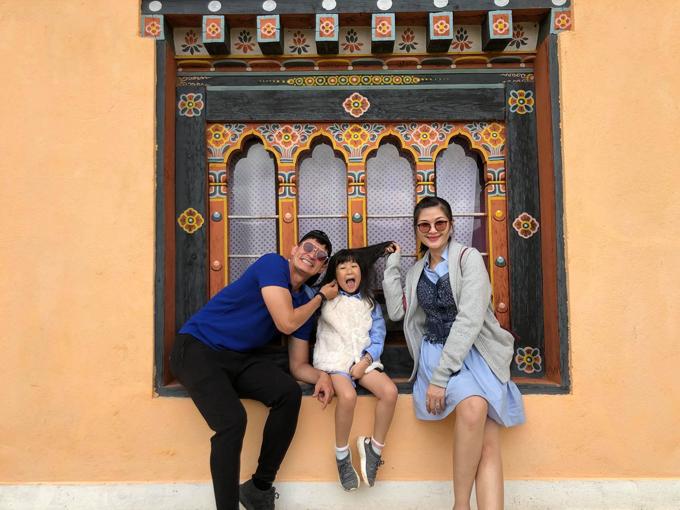 Gia đình nhỏ của Mạc Anh Thư - Huy Khánh.