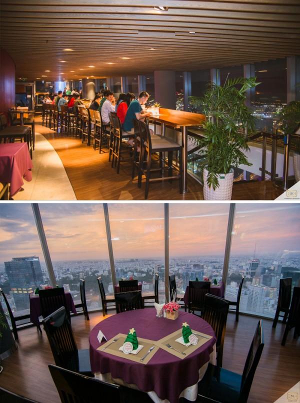 20. Ngắm toàn cảnh Sài Gòn về đêm với 5 quán café sau6