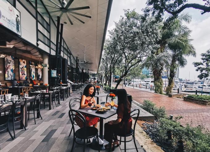 22.7 quán cà phê ngắm vịnh đẹp như mơ ở Singapore