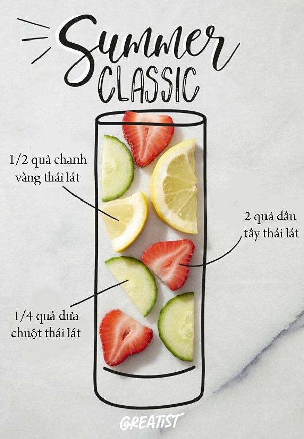 Thức uống này có tác dụng tăng cường hệ miễn dịch, chứa chất chống viêm và hỗ trợ hệ tiêu hóa hoạt động hiệu quả. Ngoài ra, nó còn giúp tăng cường năng lượng, thanh lọc toàn bộ cơ thể và làm bạn cảm thấy thoải mái hơn.