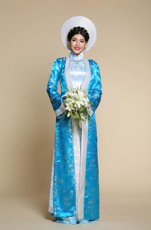 Bộ ảnh được thực hiện với sự hỗ trợ của trang điểm: Hồ Khanh, người mẫu: Á quân Gương mặt điện ảnh Ly Na Trang, nhiếp ảnh: Phan Thành Cân, chỉnh sửa hình ảnh: Phạm Đúng.