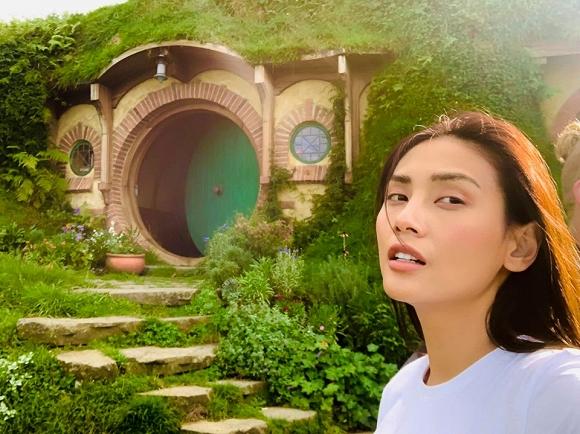 34.Võ Hoàng Yến hào hứng khám phá xứ sở thần tiên của 'người Hobbit' tại New Zealand1