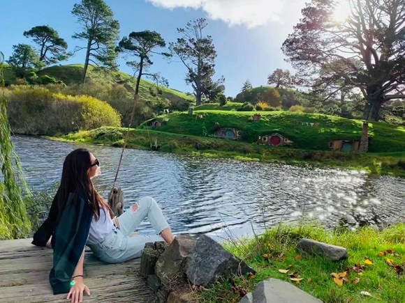 34.Võ Hoàng Yến hào hứng khám phá xứ sở thần tiên của 'người Hobbit' tại New Zealand3