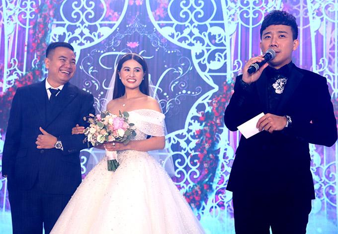 Vợ chồng Trấn Thành cùng dàn sao dự tiệc cưới đạo diễn Nhất Trung9