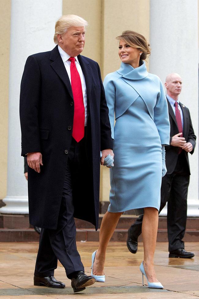 Melania Trump thường mất khoảng 75 phút cho việc trang điểm, làm tóc để xuất hiện trước công chúng.