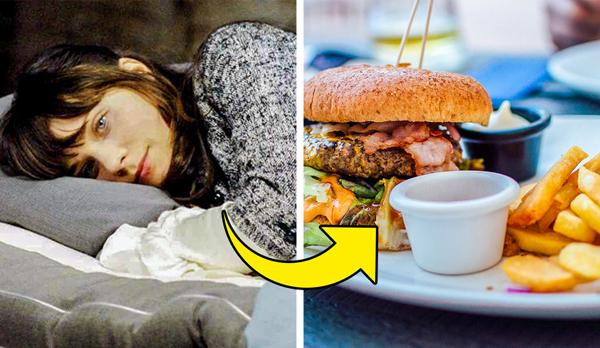 Thiếu ngủ khiến bạn thèm ăn đồ ngọt, thực phẩm giàu tinh bột.