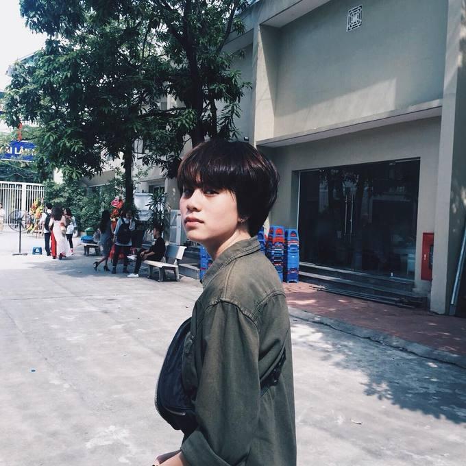 2.Ánh Dương 'Về nhà đi con' kết thân với tóc ngắn từ ngày học cấp 23