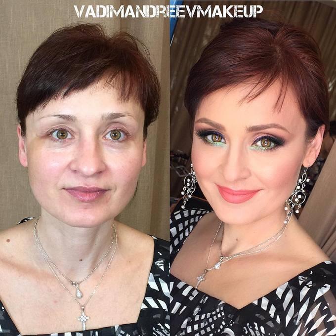 Kỹ thuật tạo khối, vẽ mắt cầu kỳ giúp người phụ nữ này 'biến hình' thành công.