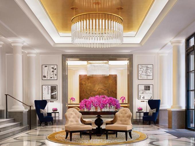 2.Căn penthouse xa xỉ nơi đại gia đình Trump nghỉ tại Anh1