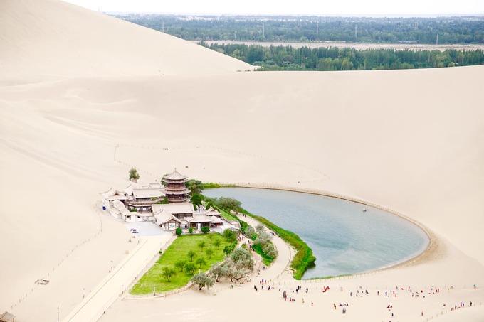 27.Đôn Hoàng - ốc đảo cô đơn giữa sa mạc ở Trung Quốc1