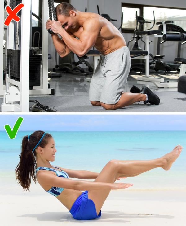 3.2.5 động tác có thể khiến bạn béo hơn sau khi tập3