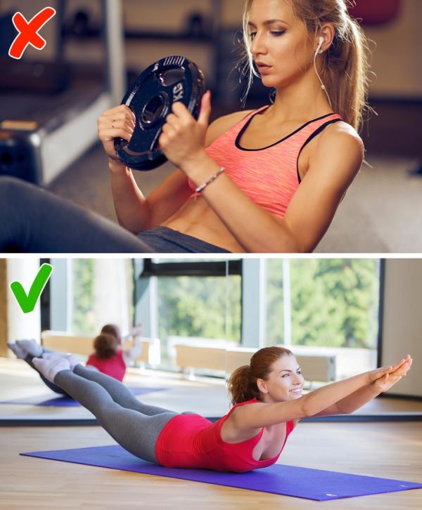 3.2.5 động tác có thể khiến bạn béo hơn sau khi tập4