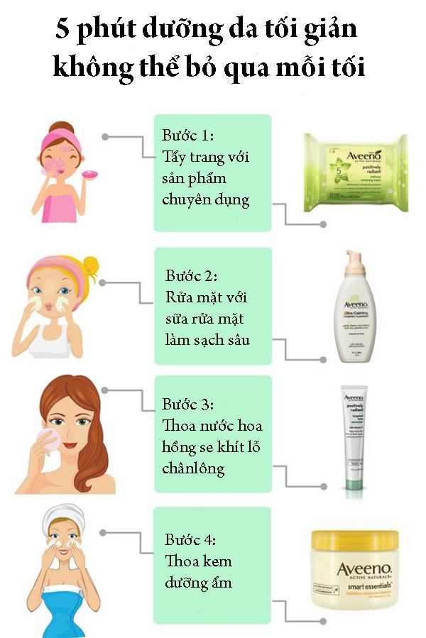 5. 5 phút dưỡng da tối giản mỗi tối không thể bỏ qua