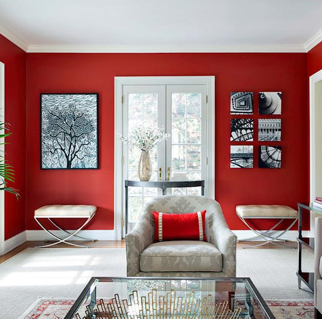 5.Các mẫu trang trí phòng khách đẹp cho người trẻ tuổi2