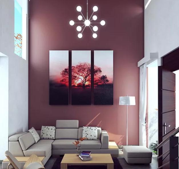 5.Các mẫu trang trí phòng khách đẹp cho người trẻ tuổi8